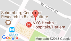 Harlem Hospital Center Chemical Dependency Location